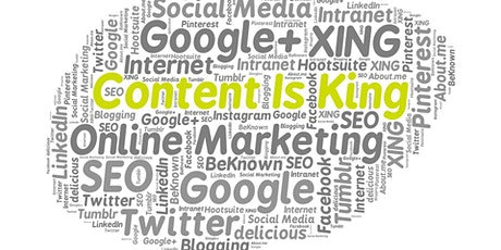 Content Marketing Training tickets