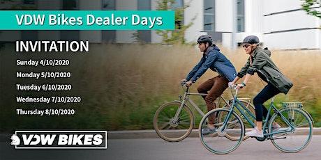 VDW Bikes Dealer Days from 4th till  8th of  October 2020 tickets
