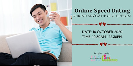 Online Speed Dating (Christian/Catholic Special) (50% OFF) tickets