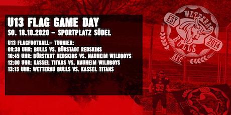 U13 Flagturnier mit Wetterau Bulls / Kassel / Bürstadt  / Nauheim b. GG Tickets