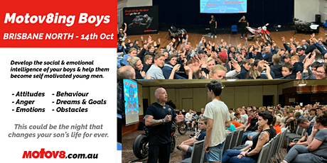 Motov8ing Boys - Brisbane North tickets