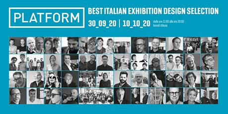 Platform Best Italian Exhibition Design Selection biglietti
