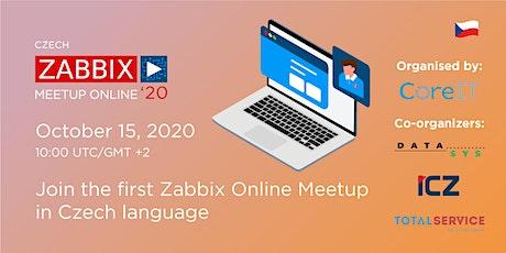 Zabbix Meetup Online in Czech tickets