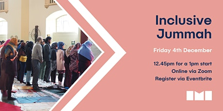 Online Jummah Prayer with Inclusive Mosque Initiative tickets
