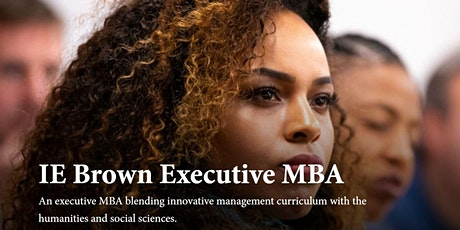 Virtual IE Brown EMBA Open Day - USA & Canada tickets