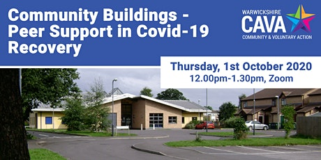 Community Buildings- Peer Support in Covid-19 Recovery tickets