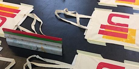 Screen Printing Taster Workshop: Tote Bags tickets