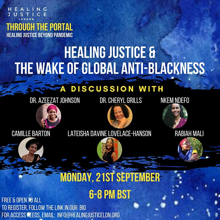 Healing Justice and the Wake of Global Anti-Blackness image