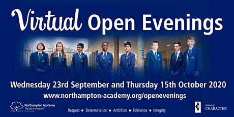Year 6 Virtual Open Evenings at Northampton Academy tickets