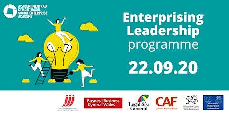 Social Enterprise Academy 'Enterprising Leadership' 1-day programme tickets