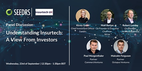 Understanding Insurtech: A View From Investors tickets