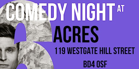 Jack O'Clubs Comedy Night at Six Acres with Joe Zalias! tickets