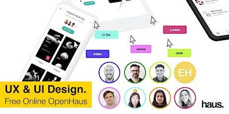 UX & UI Design OpenHaus   Free Online Info Session tickets