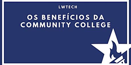[Online] Os benefícios da Community College com LWTech ingressos
