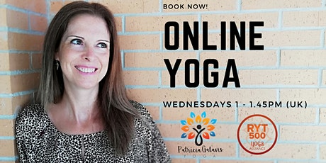 ONLINE Yoga Sessions tickets