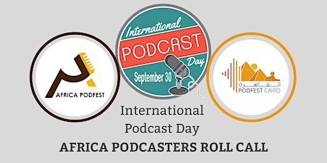 Africa Podcasters Roll Call tickets