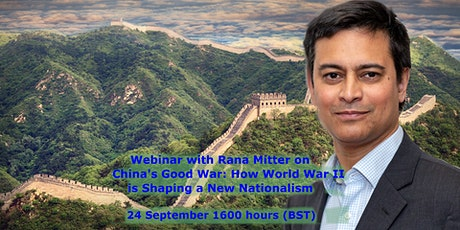 Rana Mitter - China's Good War: How WWII is Shaping a New Nationalism tickets