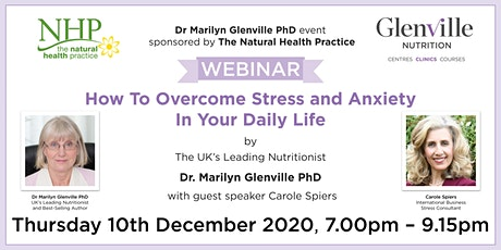 How To Overcome Stress and Anxiety In Your Daily Life tickets
