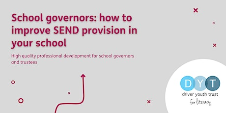 School governors: how to improve SEND provision in your school tickets