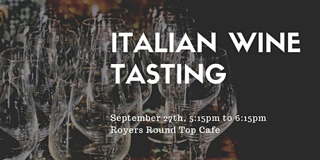 Wine Tasting at Royers - 5:15pm tickets