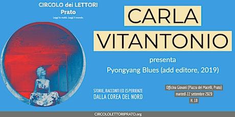 Carla Vitantonio al Circolo dei Lettori - Prato biglietti