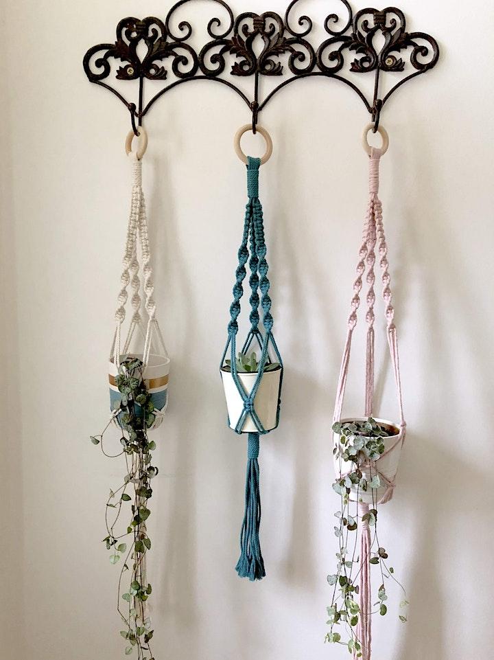 Level 1 Mindful Macrame: Sustainable Plant Hanger Workshop image