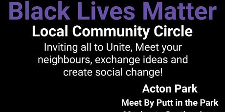 Community Circle- BLM Ealing 20th September Acton Park tickets