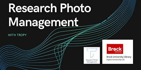 Research Photo Management with Tropy tickets