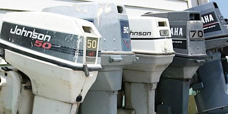 Atelier de mécanique de petits moteurs hors-bord (20-53) billets