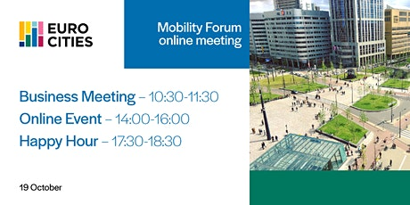 Mobility Forum - Online Meeting tickets