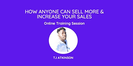 How to Sell & Increase your sales Training tickets