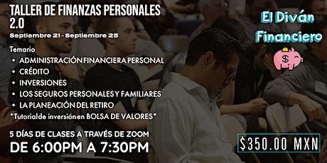 Taller de Finanzas Personales 2.0 boletos
