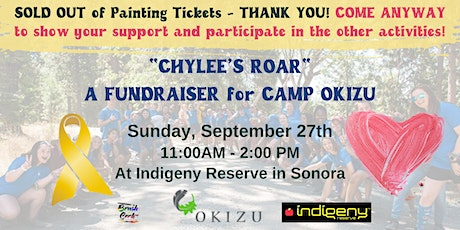 Chylee's Roar For Childhood Cancer Awareness Fundraiser at Indigeny Reserve tickets