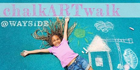 chalkARTwalk Series @Wayside tickets