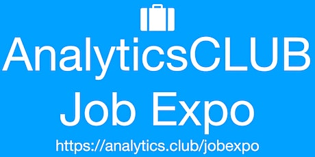 #AnalyticsClub Virtual JobExpo Career Fair Boston tickets