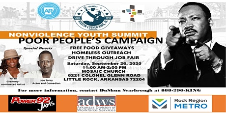 2020 Nonviolence Youth Summit Poor People's Campaign tickets