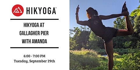 Hikyoga at Gallagher Beach with Amanda tickets