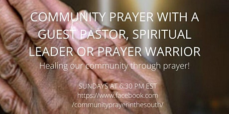 Community Prayer of the South tickets