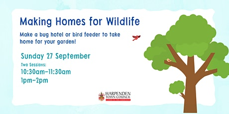 Making Homes For Wildlife tickets