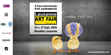2020 Lausanne ART FAIR billets