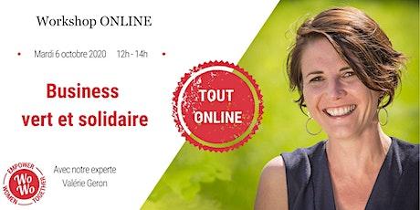 Business vert et solidaire ©️ - Valérie Geron billets