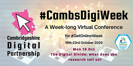 The Digital Divide: what does the research tell us? tickets