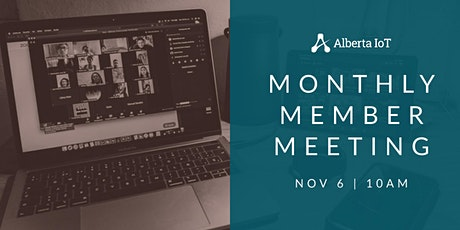 Monthly Member Meeting - November tickets