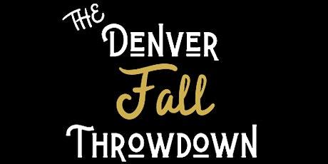 2020 Denver Fall Throwdown tickets