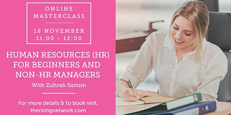 Human Resources (HR) for Beginners and Non-HR Managers tickets
