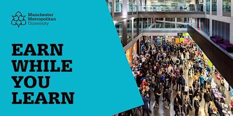 Degree Apprenticeship Virtual Open Evening | 24 November 2020 tickets