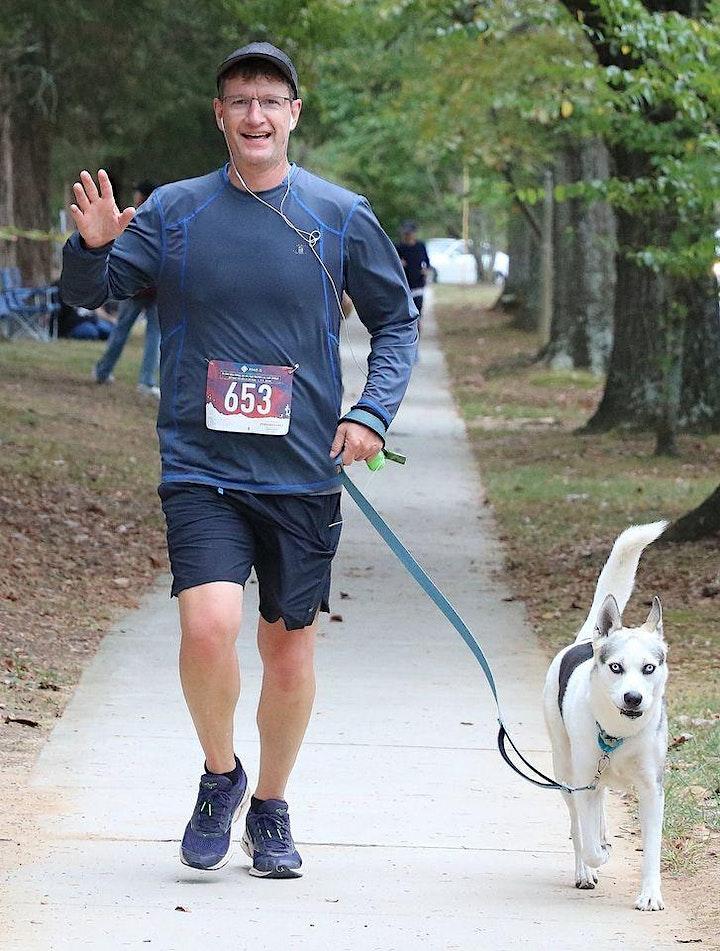 Paws for Life NC Virtual 5K 1 mile walk image