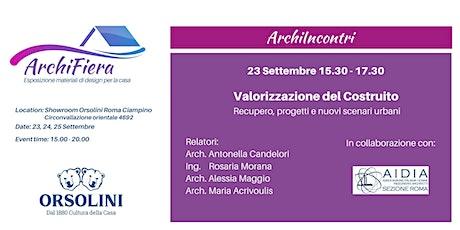Archi_Incontri biglietti