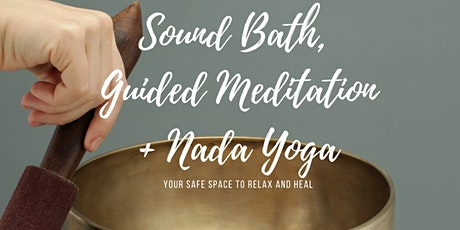 Sound Bath and Guided Meditation (in-person, small group) tickets
