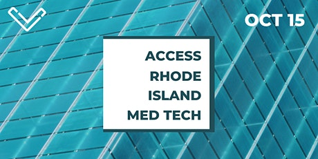 Virtual Venture Café: Access Rhode Island Med Tech tickets